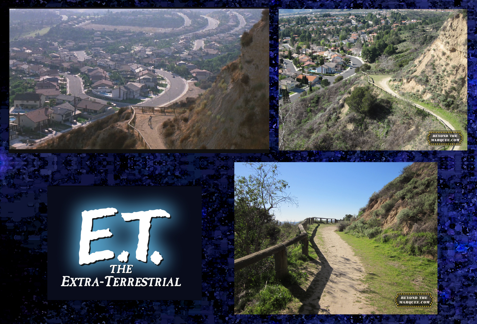 Finding ET The ExtraTerrestrial  The Filming Locations Of ET - Los angeles map porter ranch