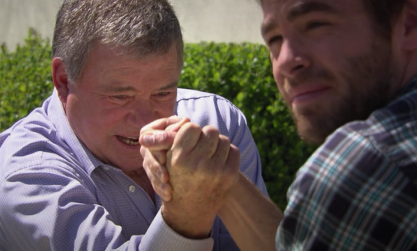 Shatner's Epic Arm Wrestle