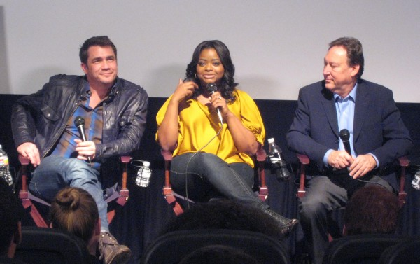 Tate Taylor Writer/Director of the Help, Octavia Spencer Academy Award Nominated Actress in The Help, Michael Taylor Chair of Film and Television Production at USC School of Cinematic Arts.