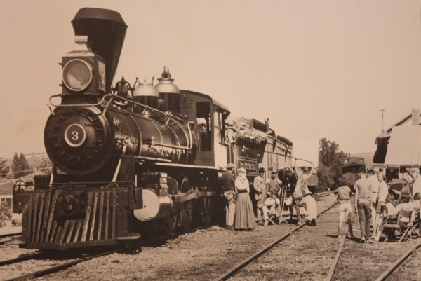 "The Sierra 3, the ""Movie Star"" locomotive of RAILTOWN 1897"