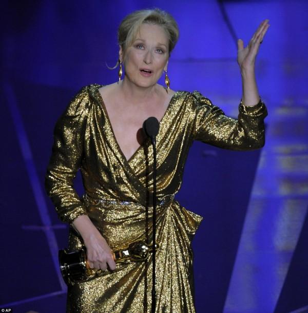 Merryl contines her winning Streep!!!