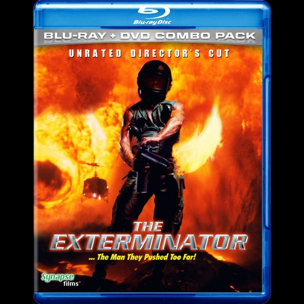 THE EXTERMINATOR on BluRay from SYNAPSE