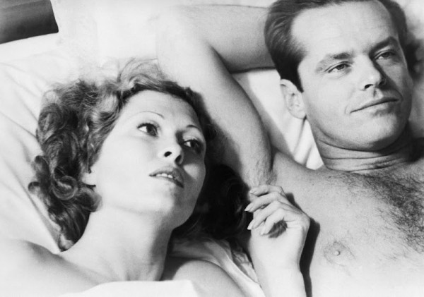 Faye Dunaway and Jack Nicholson in Chinatown