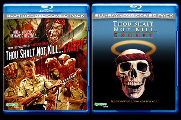 """Reversible cover for """"Thou Shalt Not Kill... Except"""""""