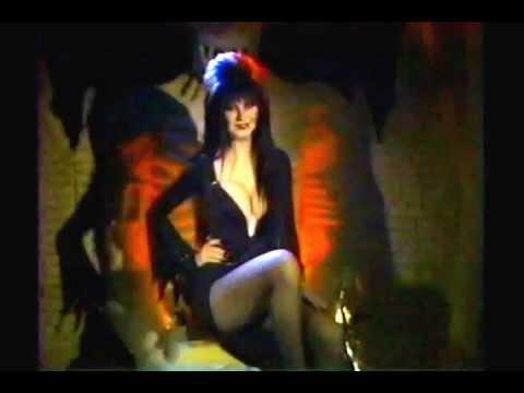 Elvira (Cassandra Peterson)... the Henny Youngman of schlock horror