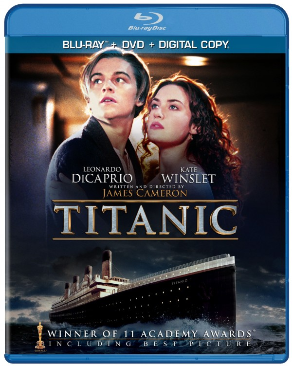 titanic blu ray  JAMES CAMERON'S TITANIC Sets Sail for the First Time Ever on BLU-RAY ...