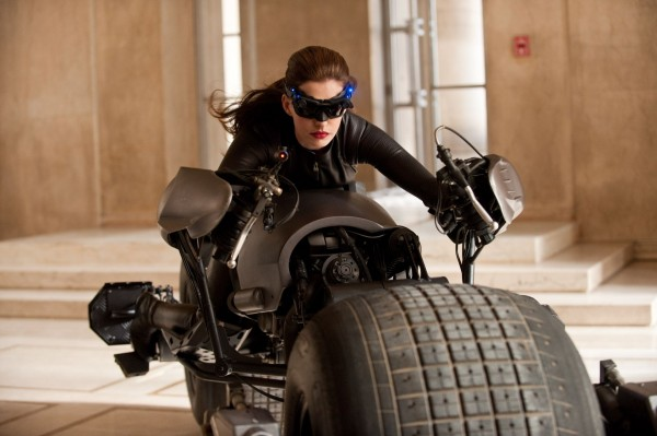 Catwoman (Anne Hathaway) is one fast and furious feline
