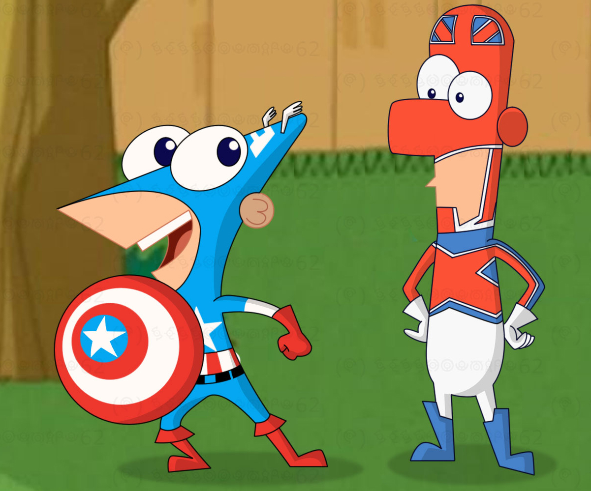 phineas and ferb meet the avengers trailer