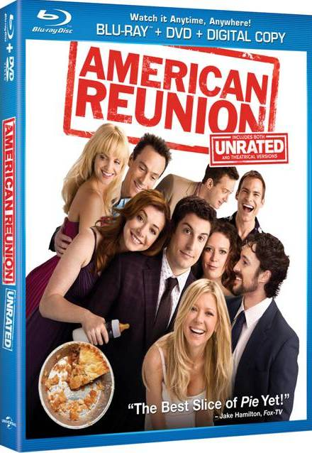"""AMERICAN REUNION"" AVAILABLE NOW ON BLU-RAY FROM UNIVERSAL HOME ENTERTAINMENT"