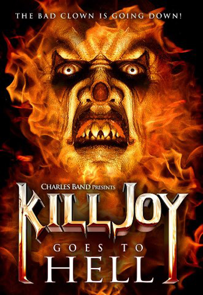 """""""KILLJOY GOES TO HELL"""" NOW AVAILABLE ON DVD FROM FULL MOON HORROR!"""