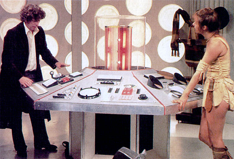 Image result for 4th doctor running the tardis