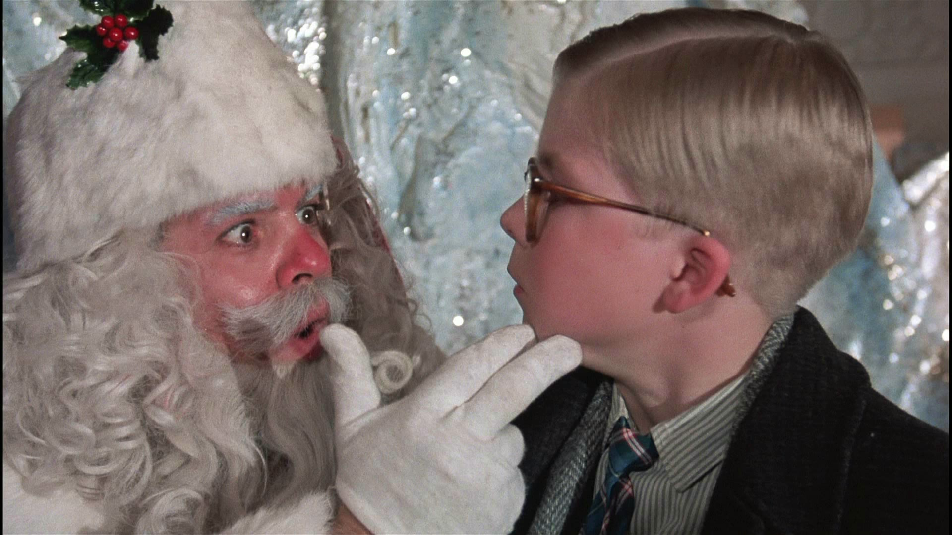 "Jeff Gillen as Santa Claus in ""A Christmas Story"" 