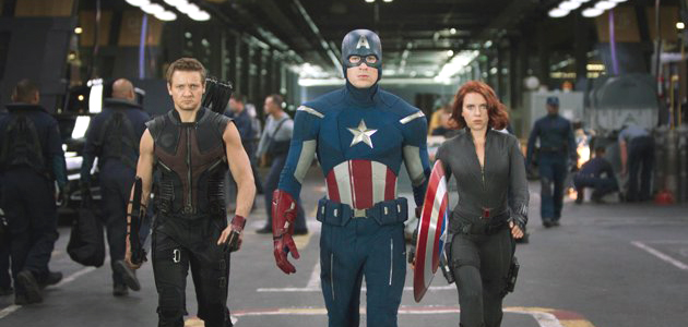 The Avengers top film for 2012