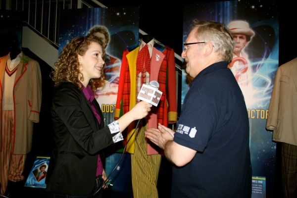 Allison-Tate Cortese talks to Doctor Who Experience Curator Andrew Beech about the unique history and look of the Doctor's costumes