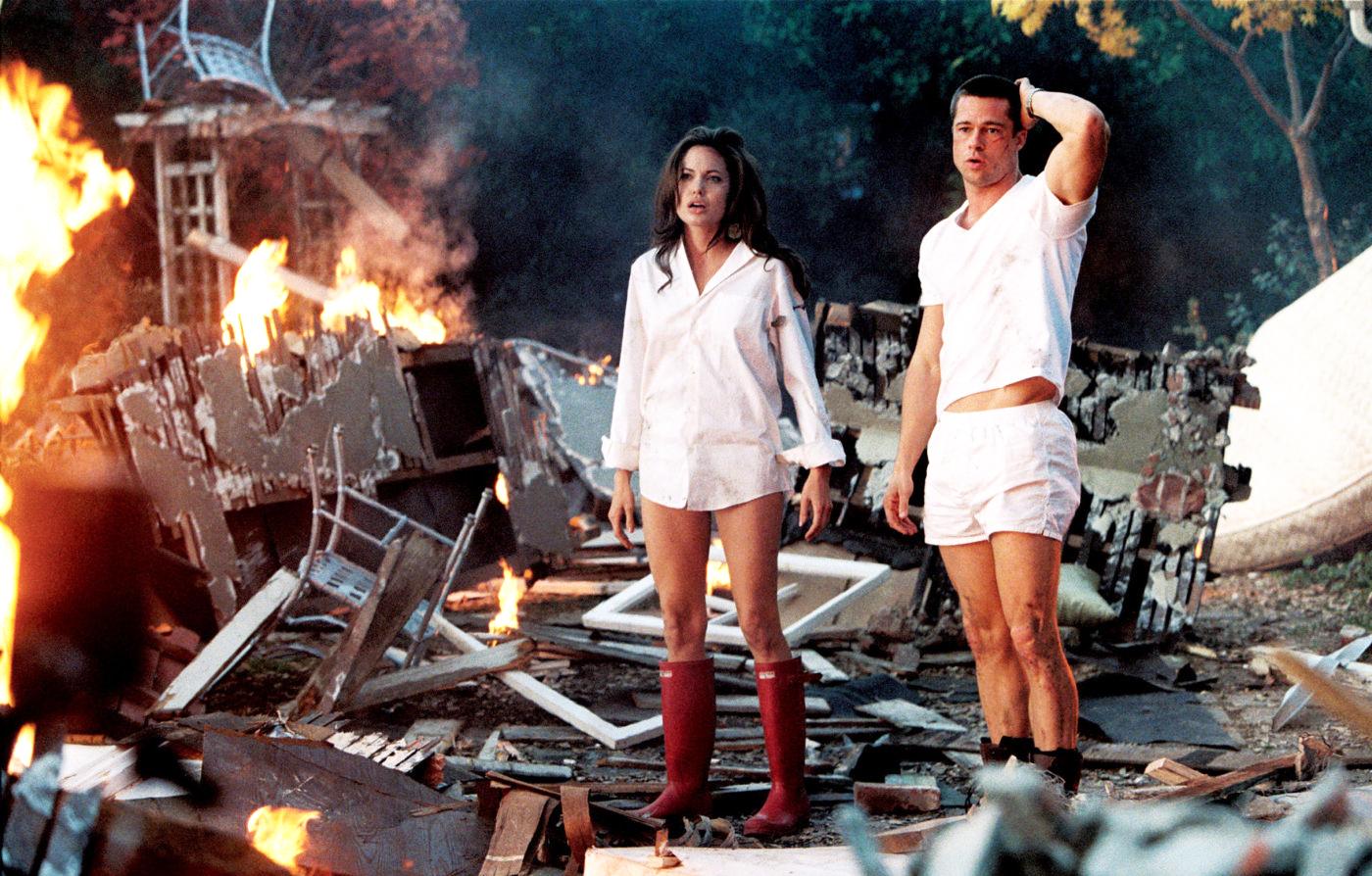 Angelina Jolie - Mr and Mrs Smith - YouPorncom