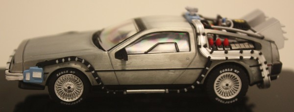 Mattel Hot Wheels 1:43 scale Elite Cult Classics Back to the