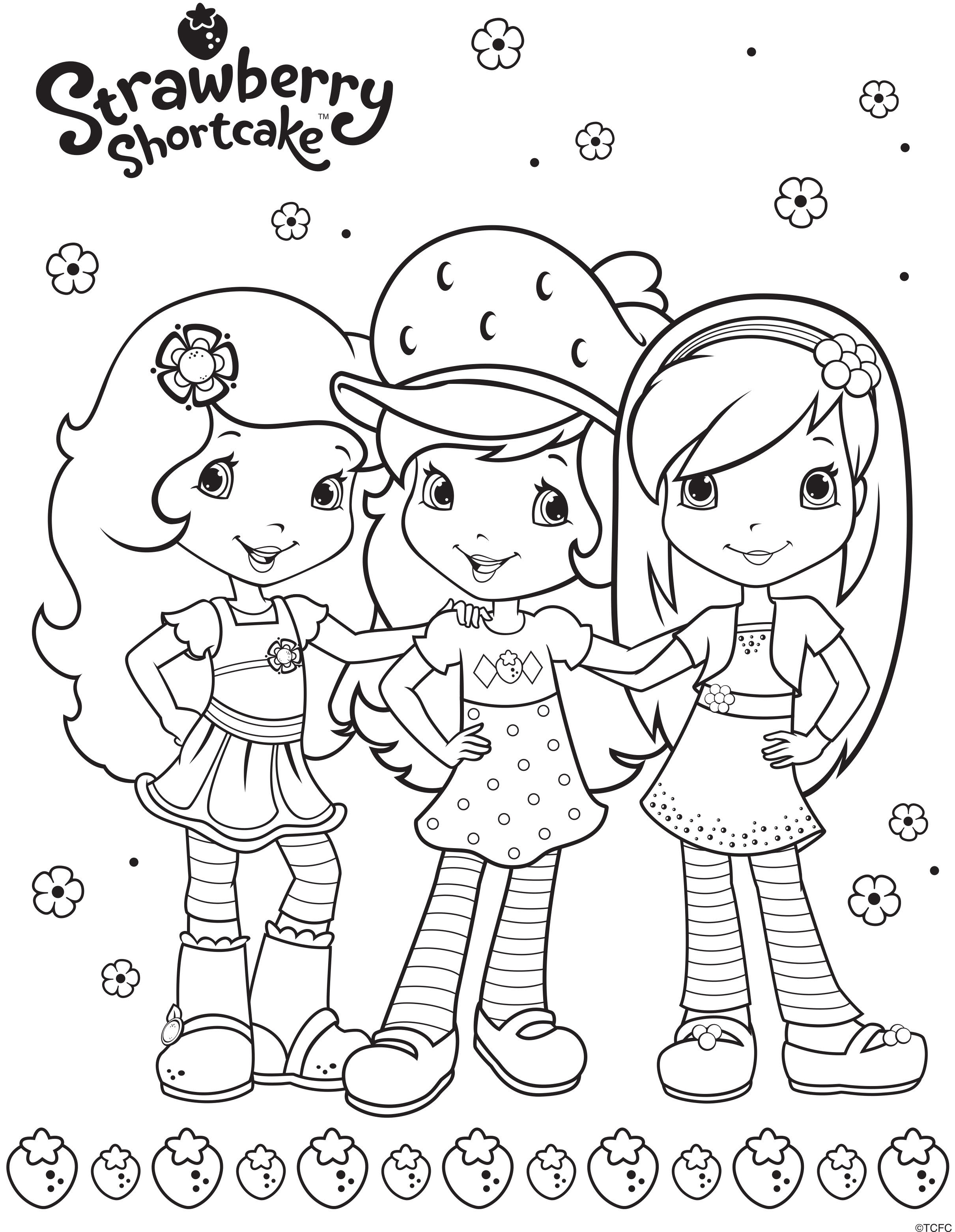 strawberry shortcake  berry friends forever