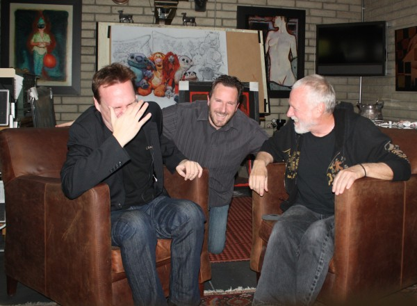 What has got Beyond the Marquee hosts Jon Donahue, Steve Czarnecki and Artist Drew Struzan laughing? Find out in the web-series interview.