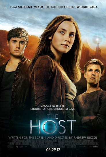 Max Irons and Saoirse Ronan star in THE HOST