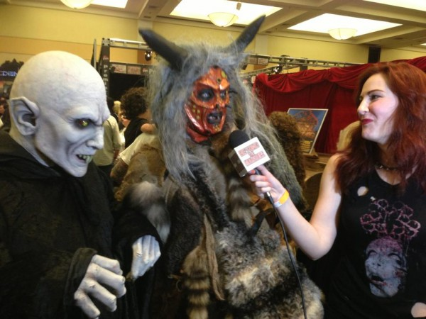 BTM Reporter Kat Sheridan gets up close and personal with some very scary monsters at 2013's MONSTERPALOOZA