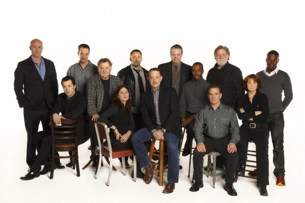 "The Broadway cast of Nora Ephron's ""Lucky Guy"""