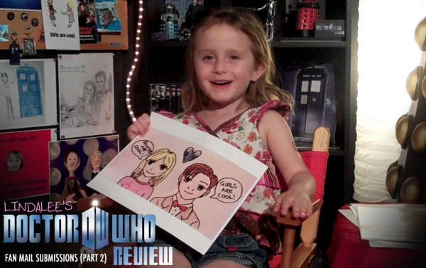 Fan Art Submissions for Lindalee's Doctor Who Review (Ep.2)