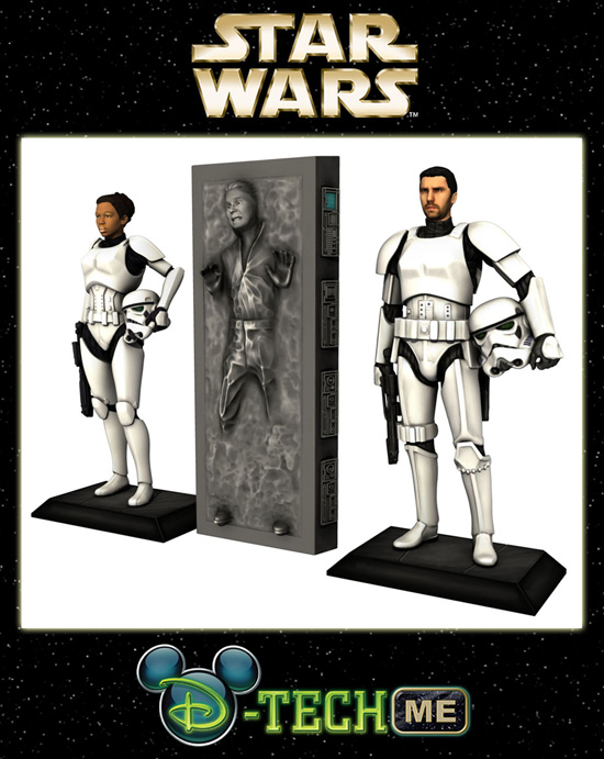 You're a little short for a customized Stormtrooper figure aren't you?