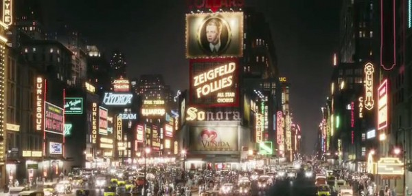 New York City and the Ziegfeld Theater as see in The Great Gatsby