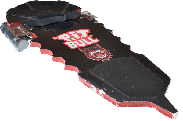 Griff's PIT BULL Hoverboard from Back to the Future II