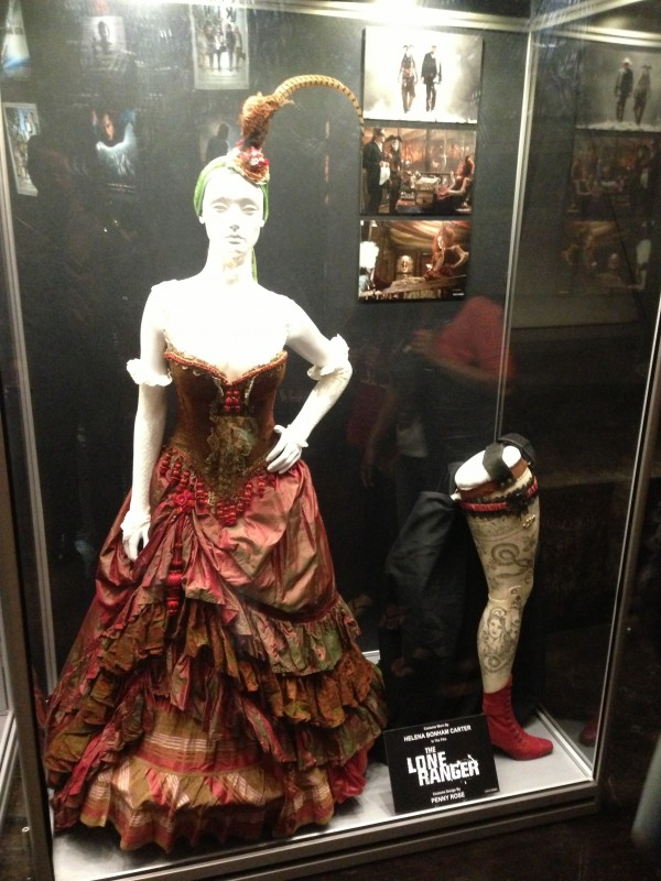"Helena Bonham Carters Costume for ""Red Harrington"""
