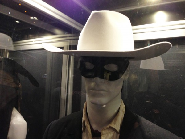 The Lone Ranger Costume - Armie hammer