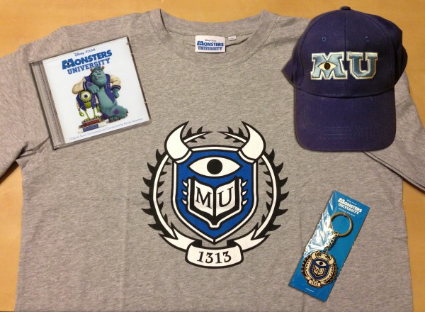 Win all of this awesome Monsters University promotional gear...
