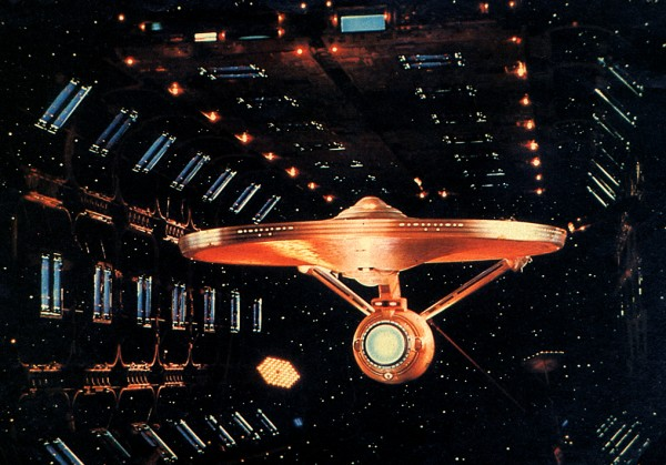 Still of Enterprise in Dry Dock, photo by Virgil Mirano
