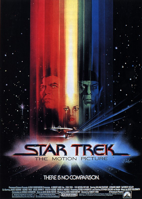 One sheet poster for Star Trek, The Motion Picture.