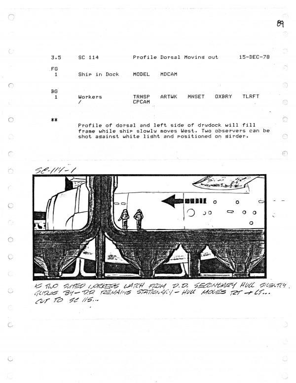 Effects Storyboard Page, Artist: Ed Verreaux.
