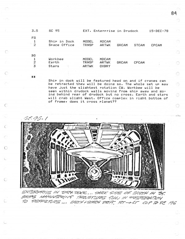 Effects Storyboard Page, Artist: Ed Verreaux.