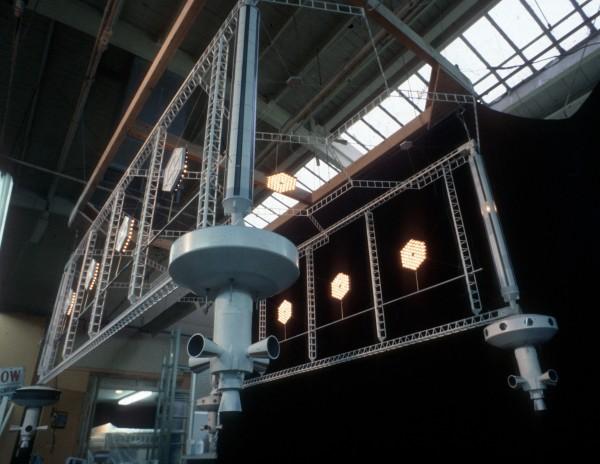 Original Dry Dock model made for television movie. Shot during Magicam Model Review.
