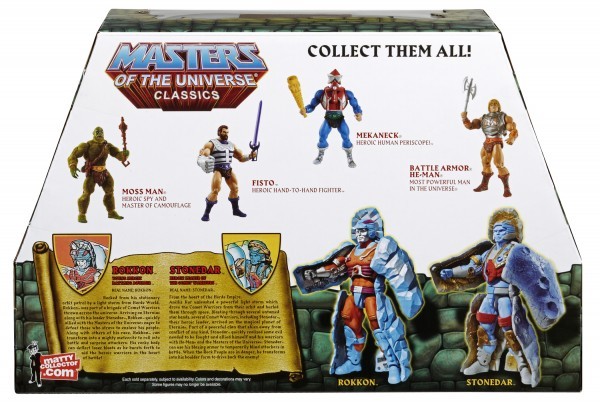 Mattel's STONEDAR and ROKKON figures