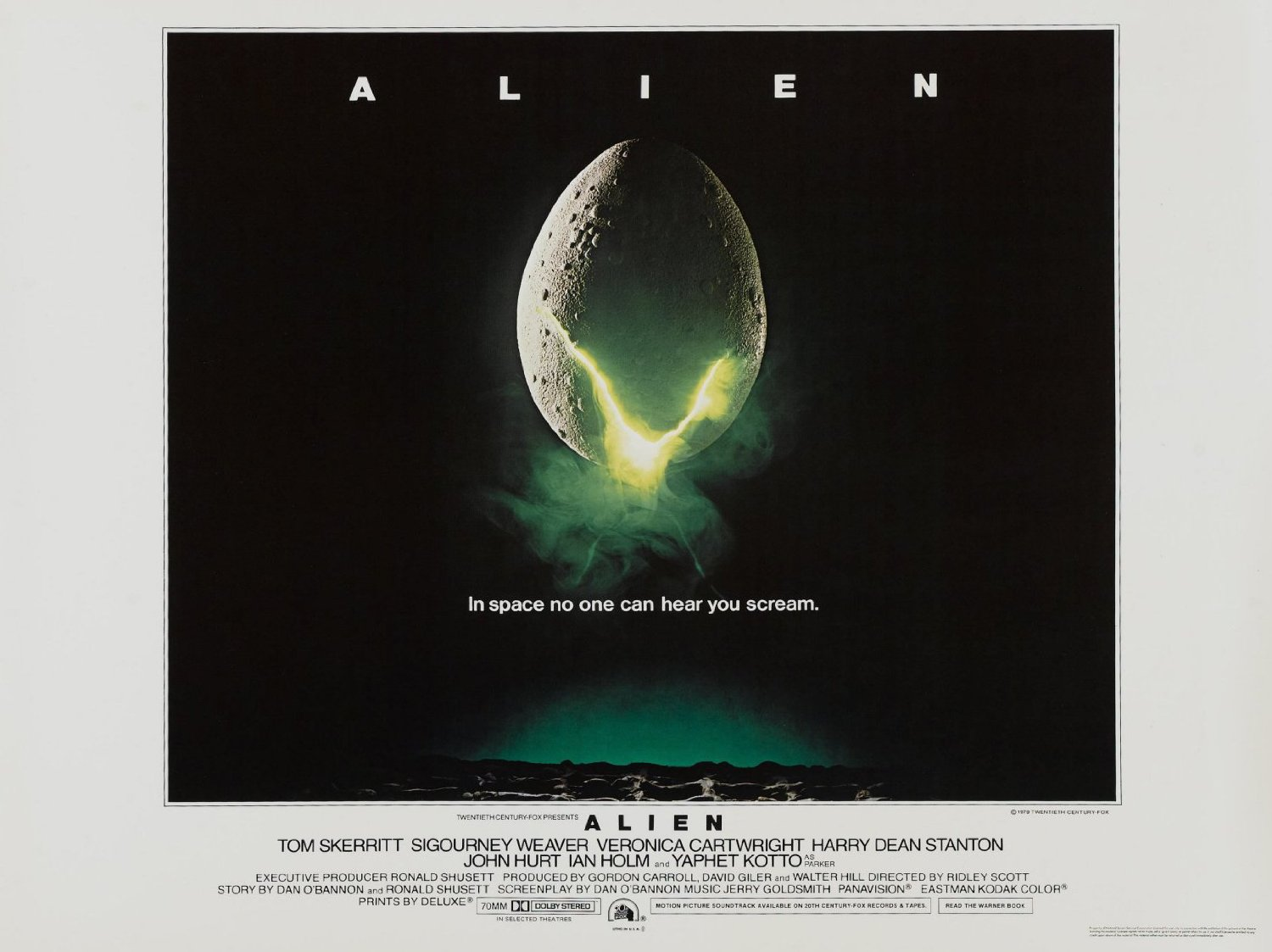 1979 Movie Posters: 1979 ALIEN Theatrical Poster