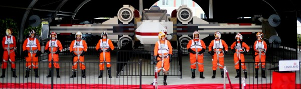 LEGO® Star Wars™ X-wing Starfighter Lands at LEGOLAND® California Resort