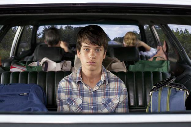 photo of Liam James  - car