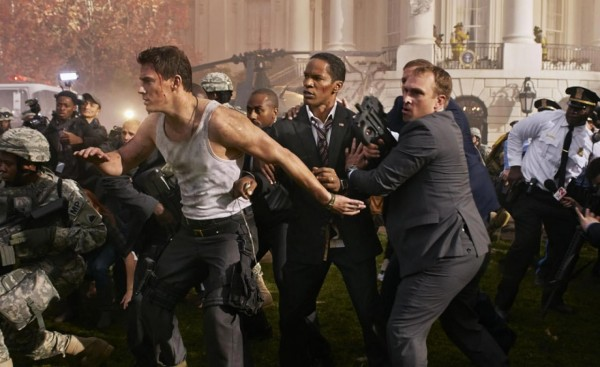White House Down - Channing Tatum  and Jamie Foxx