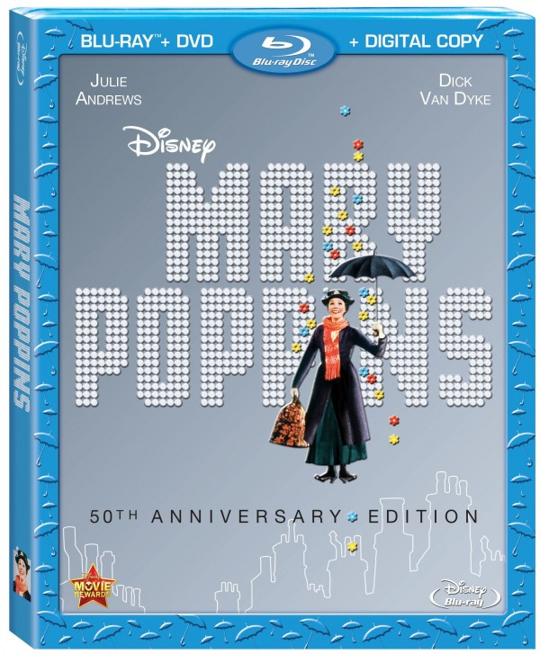 Mary Poppins 50th Blu-ray coming Dec 10th