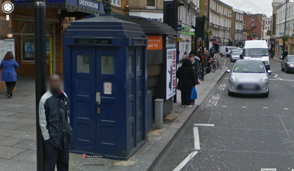 Venture Into the Doctor\u0027s TARDIS Thanks to the Technology of Google