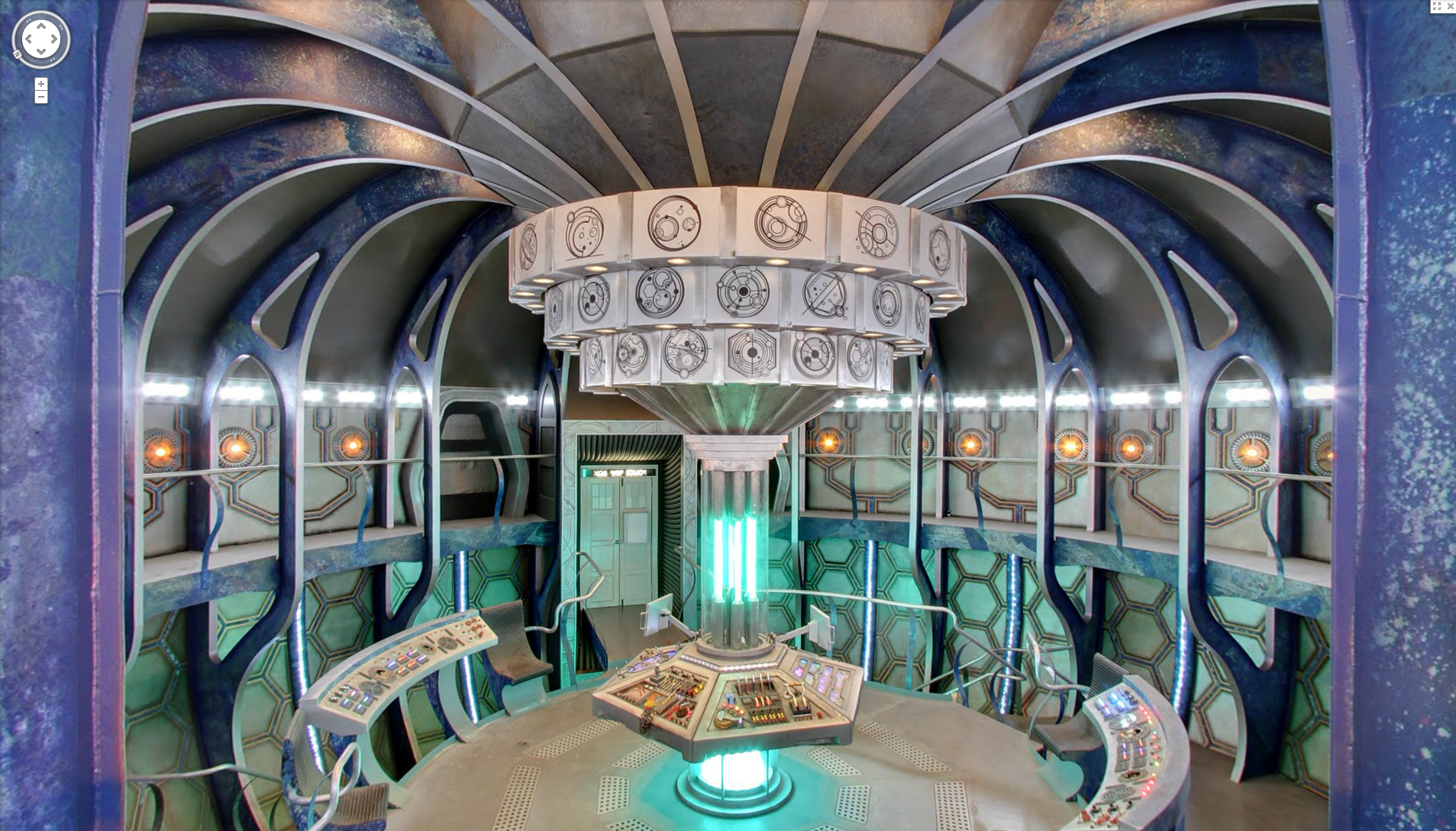 Interior Of The TARDIS U2013 Google Maps