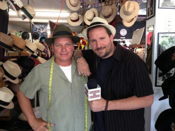Baron Hat President Mark Mejia and Beyond the Marquee Host/Founder Steve Czarnecki