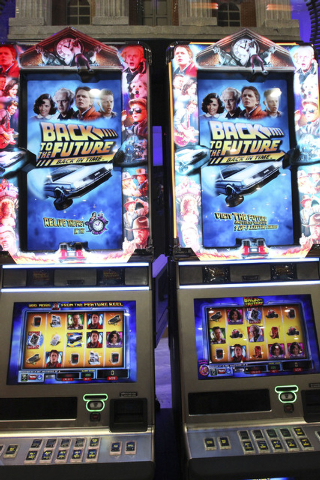 back to the future slot machine