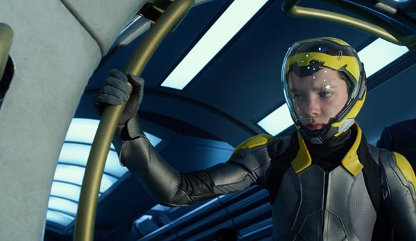 Ender gets ready for 0 gravity battle
