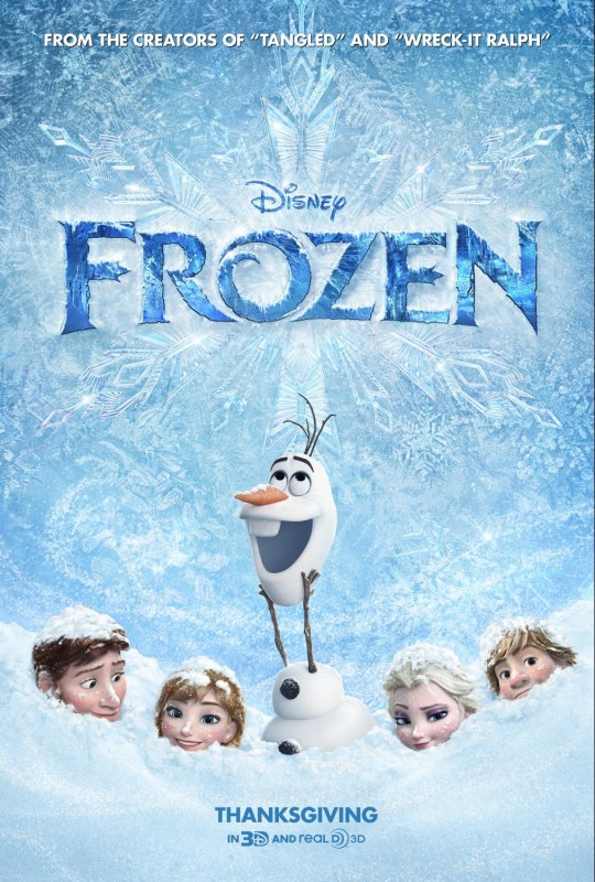 Disney's 'Frozen' in theaters Nov. 27