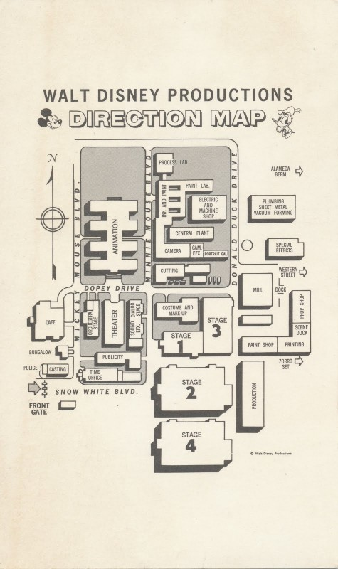 BTM-Disney Studio Map